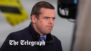 video: Chicken coup: Douglas Ross' questioning of Nicola Sturgeon drowned out by noisy birds