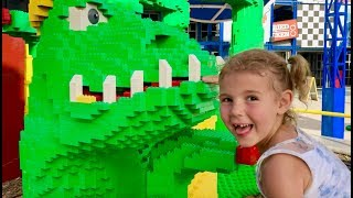 Vania and Mania Adventure to an Outdoor Playground Legoland Part 1