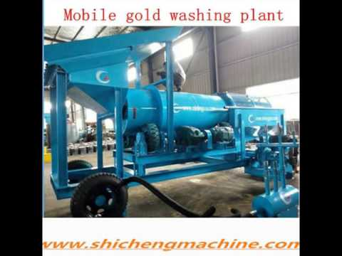 2014 high capacity Ghana gold mining equipment
