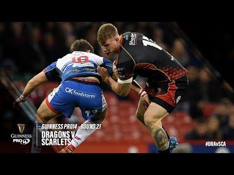 Guinness PRO14 Round 21 Highlights: Dragons v Scarlets