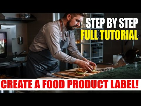 Selling Food Online How to Start a Food Business [ Tutorial How to Make a Food Label ]