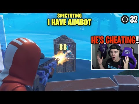 So I Spectated Fortnite Players With The BEST AIM EVER...