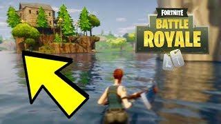 Fortnite - Secret Hiding Spot Under Loot Lake