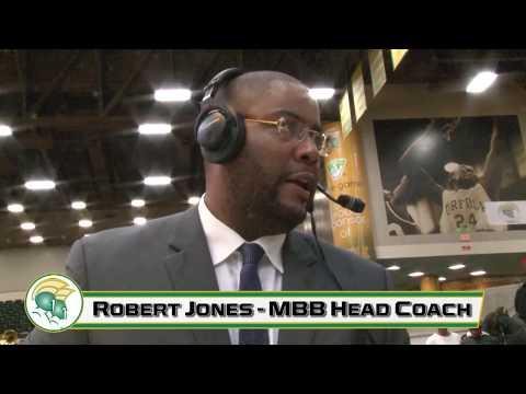 NSU MBB Postgame Coach Interview: Robert Jones