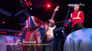 Iron Maiden   The Trooper Rock am Ring 2014