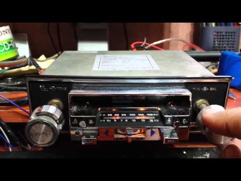 Mecca CRF-210 radio cassette car stereo  player