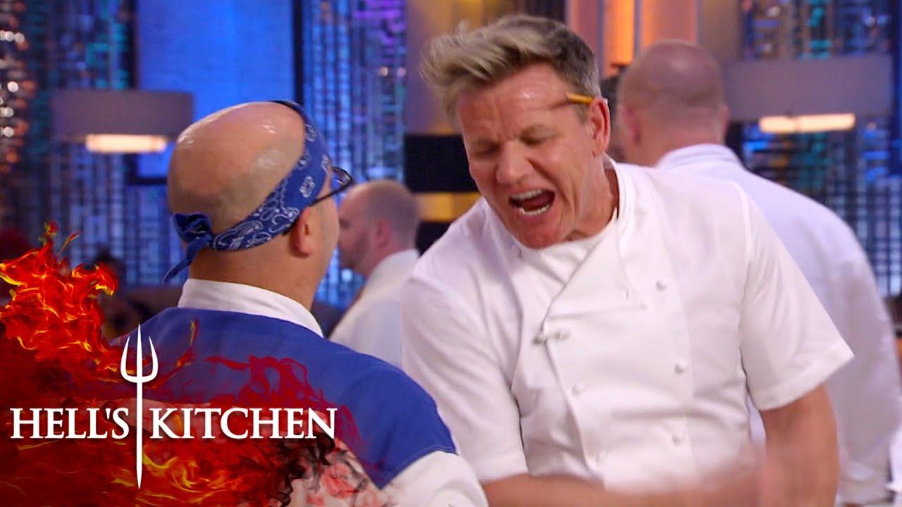 """You're Like A Sack of SH*t On A Hot Day"" | Hell's Kitchen"