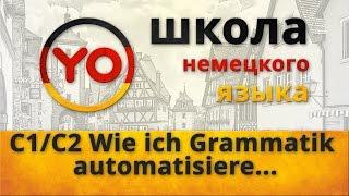 Wie ich Grammatik automatisiere  Deutsch als Fremdsprache C1 C2  Oxana Wassiljeva