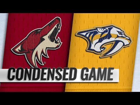 11/29/18 Condensed Game: Coyotes @ Predators