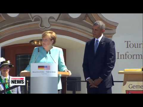 World leaders seek to bolster Russian sanctions at G7 summit   G7 정상회의 개막... 대 러