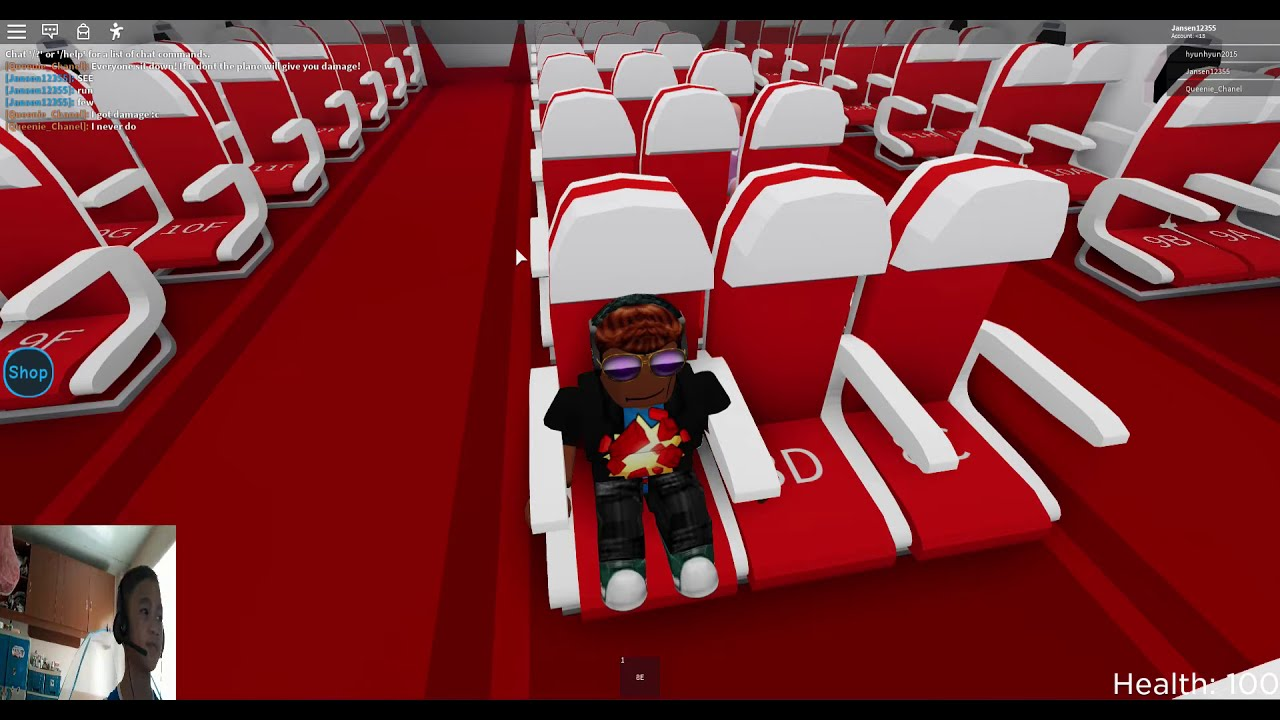 Roblox: Vacation Story.. I Survived the Plane Crash ...