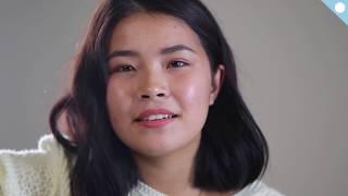 якутская девушка Анжела Жиркова со своей песней Чтобы жить