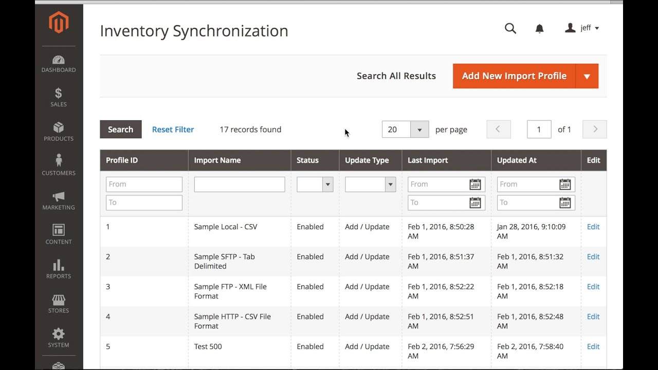 Magento 2 0 Inventory Synchronization Extension | Customer
