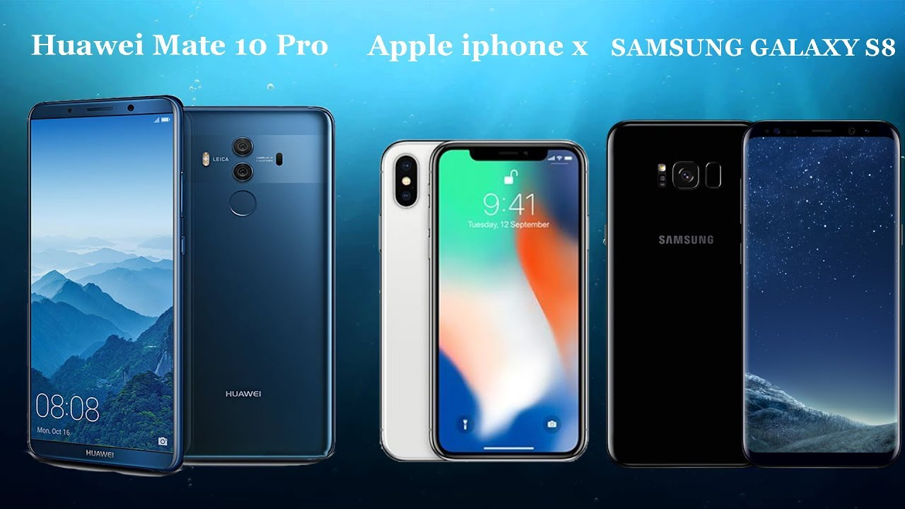 Iphone X Vs Galaxy S8 Galaxy S8 And Galaxy Note 8