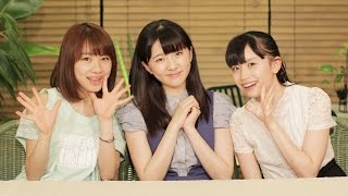 MCは、モーニング娘。'15石田亜佑美と、つばきファクトリー小片リサ、浅...
