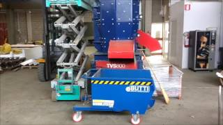 TC Recycling - Alluminio automotive - Molino Verticale a Densità Variabile