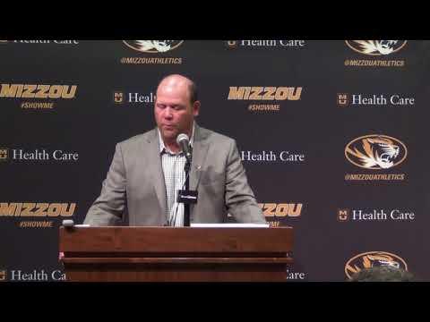 Missouri Head Coach Barry Odom 8/29/17