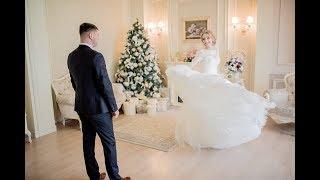 Красивая зимняя свадьба Александра и Александры 27.01.2018