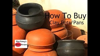How To Buy And Season Clay Pots - Clay Pans - Mud Vessels - Manchatti - Skinny Recipes