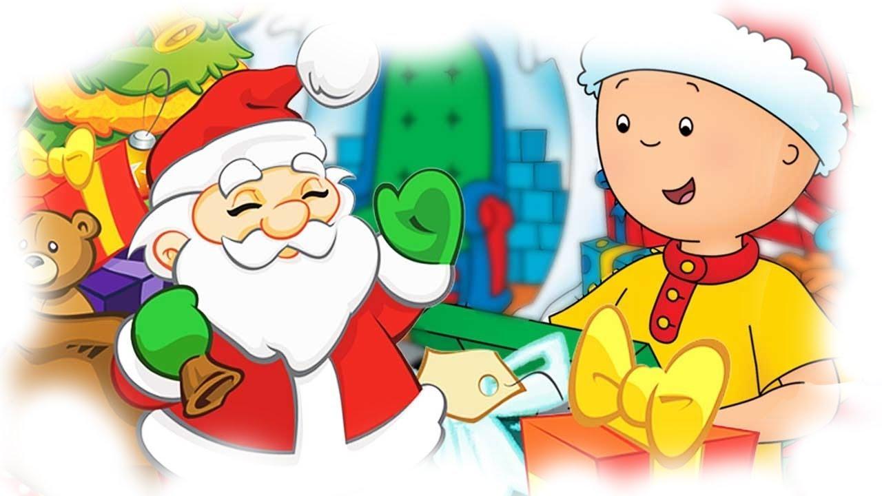 Christmas Cartoon Compilation | Caillou's Christmas with ...