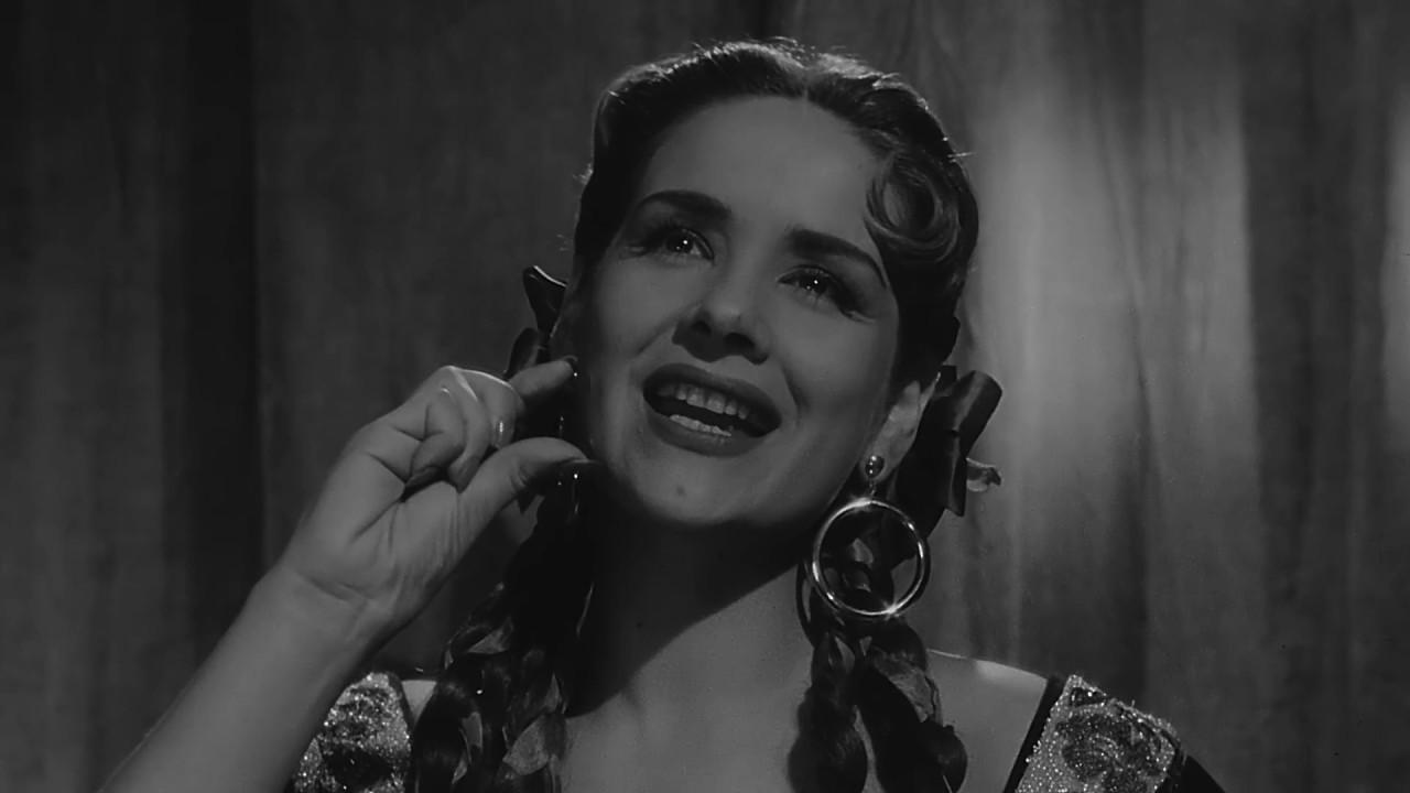 Rosita Quintana En La Pelicula A Los Cuatro Vientos 1956 Tele N