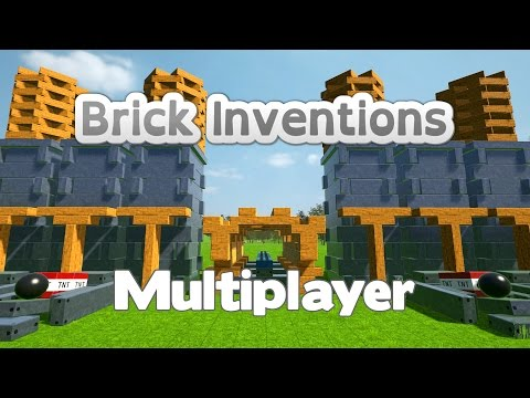 Brick Inventions - Multiplayer Introduction (2016 Physics Sandbox Game)