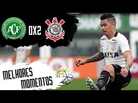 Chapecoense 0 x 2 Corinthians - Melhores Momentos - Campeonato Brasileiro 2016