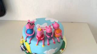 Торт Свинка Пеппа. Торты на заказ Сочи. 89384955858