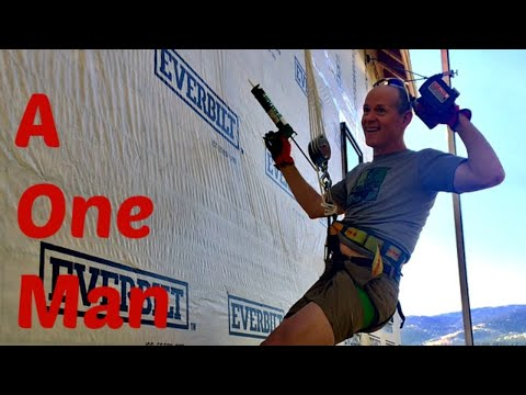 One Man Window Installation How to Hoist & Install Windows by Yourself