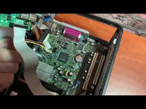 Старый компьютер Dell, купил за 500 рублей, обзор, тест, запуск игр, настоящий брендовый компьютер !