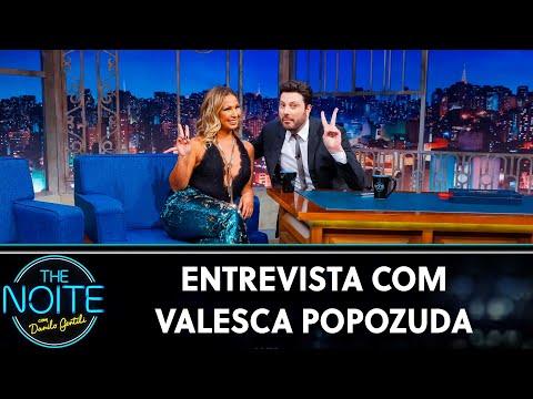 Entrevista com Valesca Popozuda  The Noite 050619