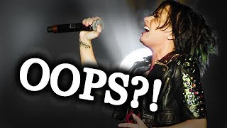 Times Demi Lovato Got Frustrated With Her OWN VOCALS!