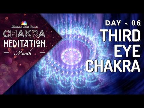 Chakra Sleep Meditation Music | OPEN THIRD EYE Chakra Meditation Balancing & Healing, Deep Sleep