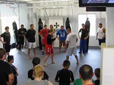 UFC / MMA Coach Greg Jackson Seminar at MMASTOP Fitness Crest Hill IL - 8/13/11
