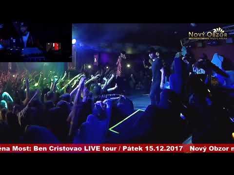 Ben Cristovao - ASIO live @ Nový Obzor music arena Most, 15.12.2017