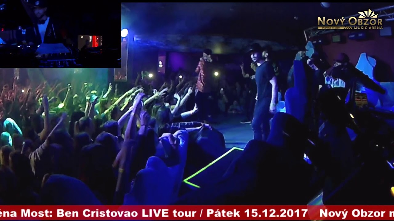 f7c3d5aa8505 Ben Cristovao - ASIO live   Nový Obzor music arena Most
