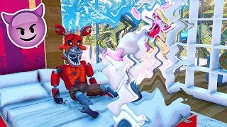 - ANIMATRONICS Mans o do NIGHTMARE FOXY E MANGLE GTA V Five Nights at Freddy s