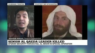 Afghan forces kill top al Qaeda militant wanted by US, interior ministry says