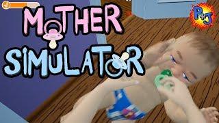 Let's Play Mother Simulator | Mom Sim Gameplay Part 1 (P+J)