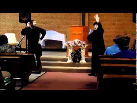 Broken Yoke Mime Ministry Ministering To Medley: 'Help Me Believe' And 'I Trust You'