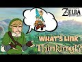 What Link Is Really Thinking In Zelda Breath Of The Wild Funny (Botw)