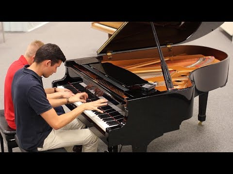 Pirates Of The Caribbean Piano Duet (100k Special)