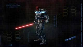 SWTOR Sith Warrior Character Progression [HD]