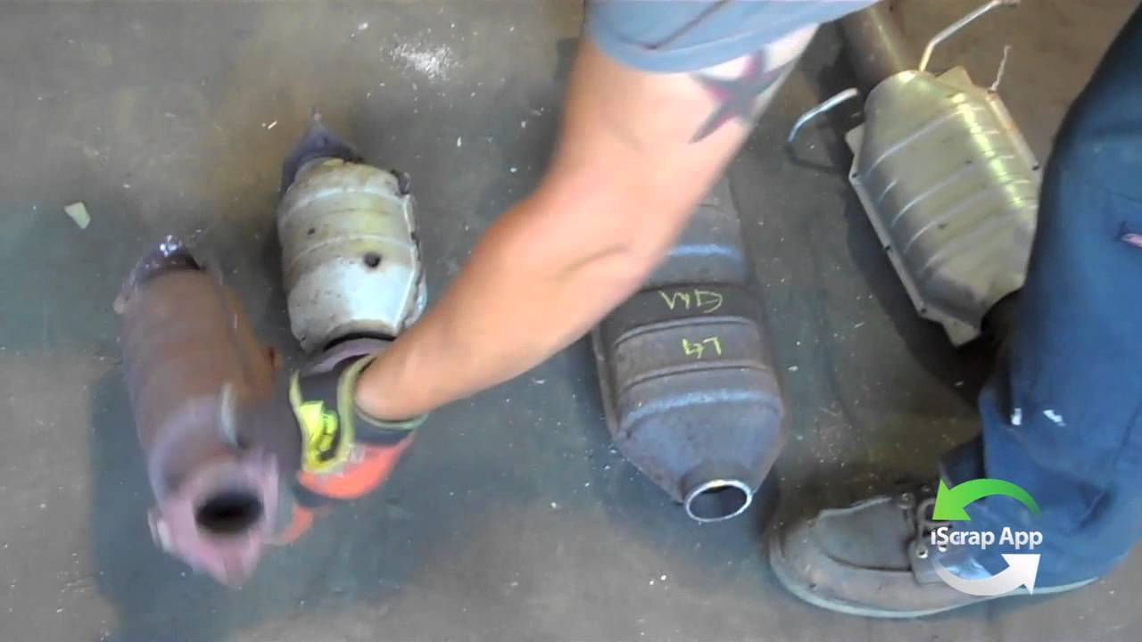 Types of Catalytic Converters for Scrap - YouTube