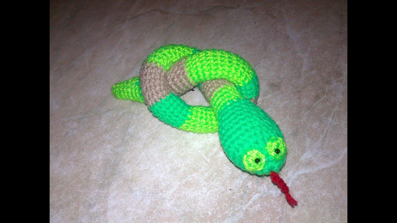 Маленькие змейки своими руками