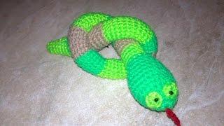 Змея Скарапея.Змея амигуруми,змея крючком,игрушка змея.Toy.Игрушки амигуруми.