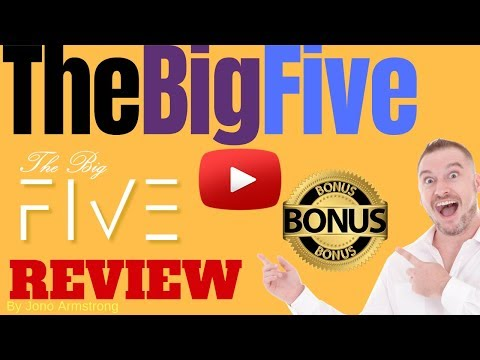 The Big Five Review, ⚠️WARNING⚠️ DON'T GET THE BIG FIVE WITHOUT MY 👷CUSTOM👷 BONUSES!!