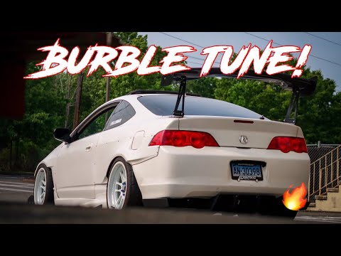 RSX WITH A BURBLE TUNE BY JIMMY OAKES... INSANE!!