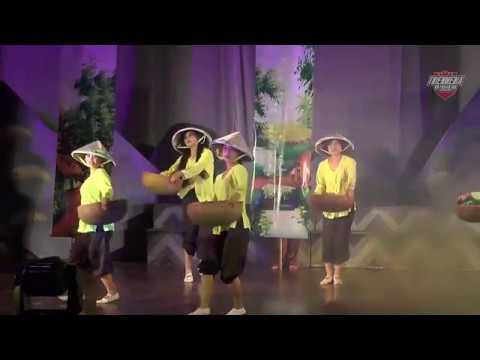 Huyện Lạc Thủy. Múa vui hội ngày mùa. Giải nhất Liên hoan NTQC tỉnh Hòa Bình 2015