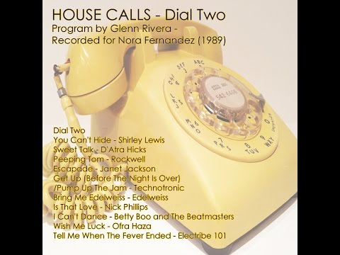 HOUSE CALLS - Dial Two - Program by Glenn Rivera (1989)